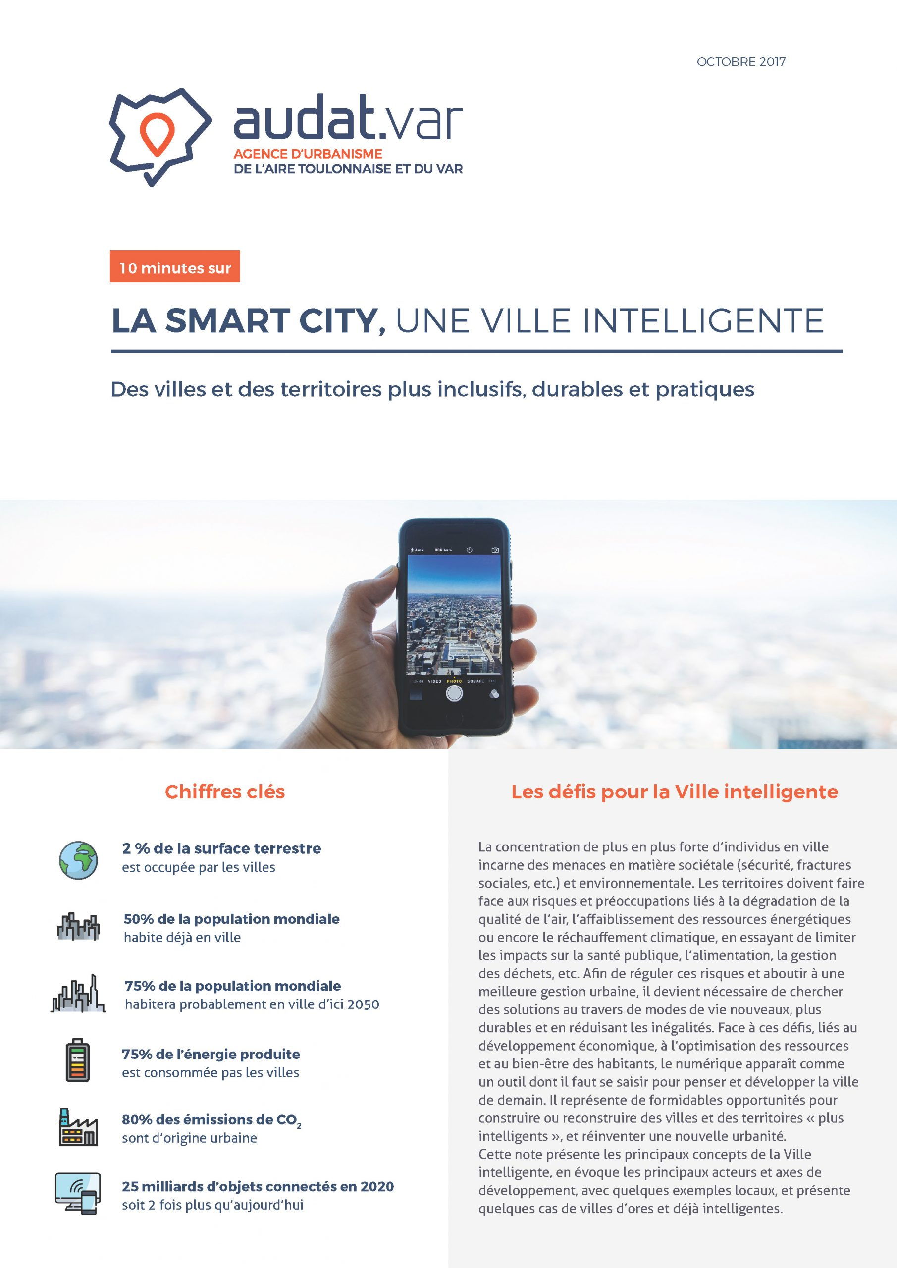 Smart City, la ville intelligente