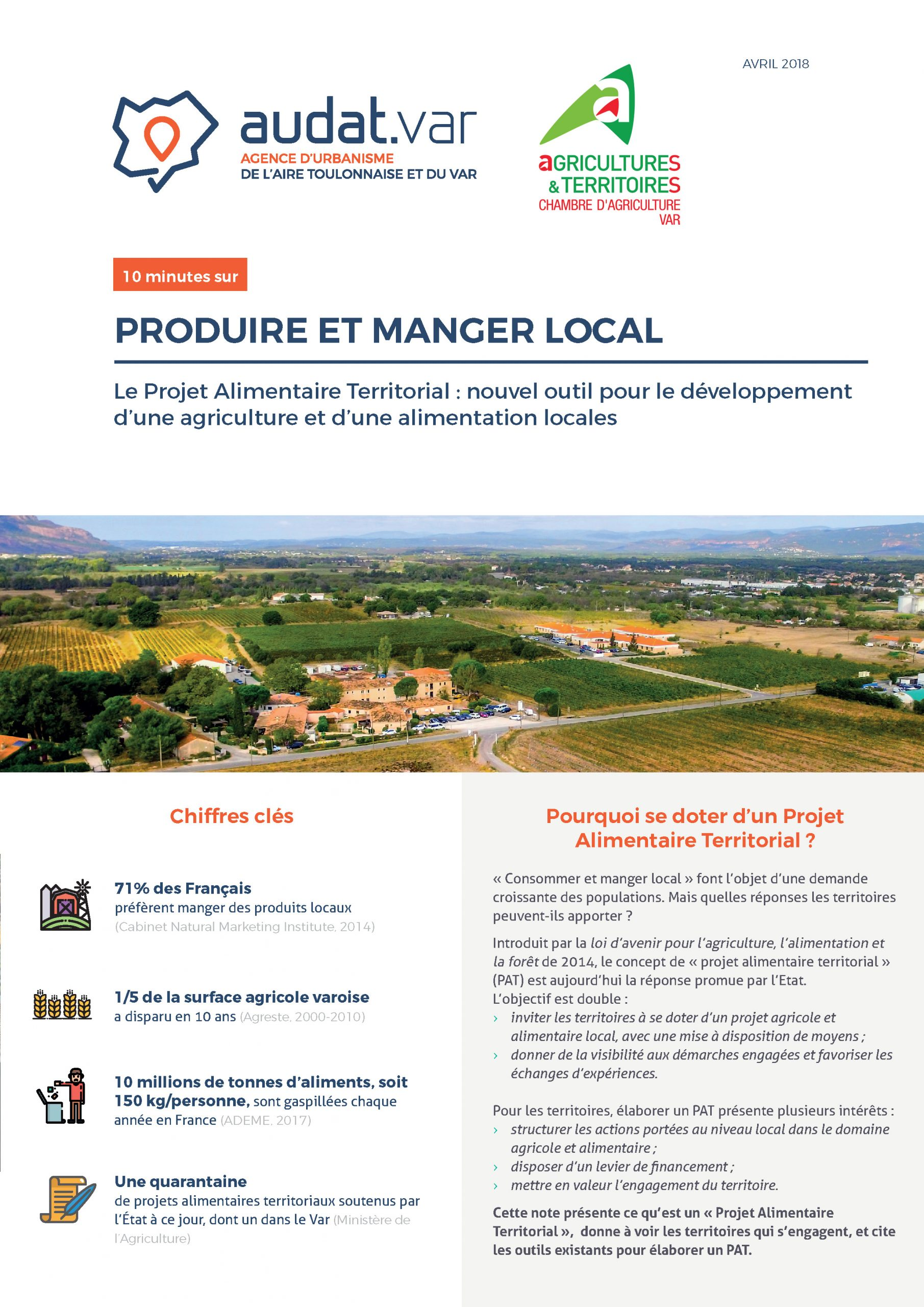 PAT – Produire et manger local