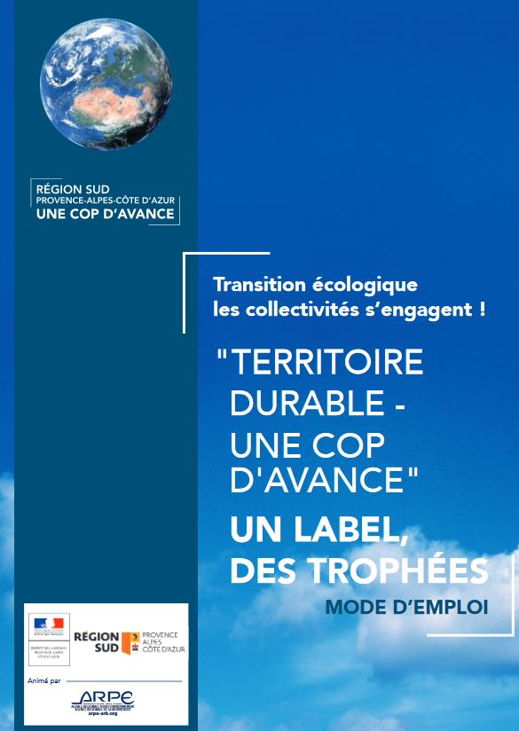 Edition 2019 du label « Territoire durable – Une COP d'avance »