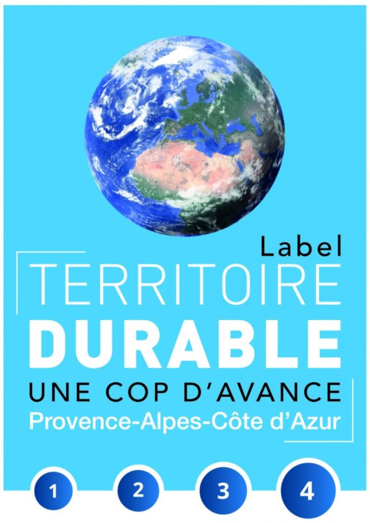 Label « Territoire durable, une Cop d'avance »